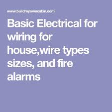25 unique basic electrical wiring ideas on pinterest electrical types of electrical wires and cables at House Wiring Types