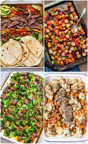 Date night just got a whole lot tastier with these easy (and healthy) dinner ideas for two. 25 Sheet Pan Dinners Busy Weeknight Meals The Girl On Bloor