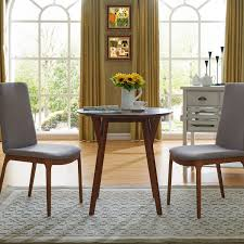 Shannon Round Small Space Dining Table Midcentury Modern Small