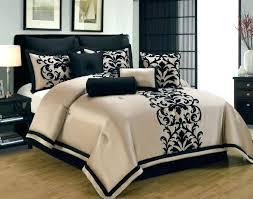 black damask comforter