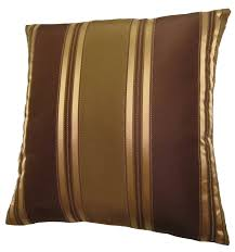 amazoncom x bronze gold and brown stripes decorative throw