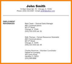 Employment Reference Sheet 8 References Sheet Examples The Stuffedolive Restaurant