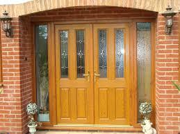 Front Doors Cozy Contemporary Oak Front Door Best Idea Solid Wood Contemporary Front Doors Uk