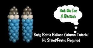 Baby Bottle Balloon Decoration 60 inch Balloons for Baby Bottle Column 37