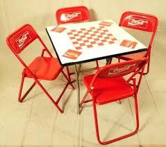 full image for coca cola kitchen table and chairs coca cola pub table set coca cola