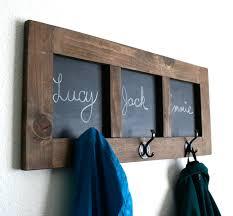 Kids Wall Coat Rack Chalkboard Coat Rack Backpack Hanger Coat Hanger Chalkboard Home 35
