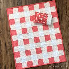 crazy mom quilts: gingham doll quilt & This gingham doll quilt, which is a mini version of my new king size quilt,  was such a delight to make. After I had finished the king size quilt, ... Adamdwight.com