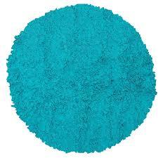 the rug market teal blue 439 round kids area rug round kids rug