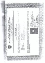 Sertifikat Pelatihan Tatacara Penerbitan Sertifikat Pelatihan Di Lembaga