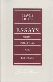 essays moral political and literary david hume   essays moral political and literary