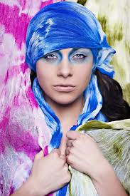 creative photoshoot makeup