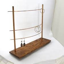 Diy Earring Display Stand The Triple Bar Earring Display Holder Jewelry Display Holder 2