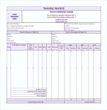 Invoice Template Word simple GST Invoice Format in PDF100 Simple Invoice Template Word 68