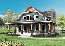 craftsman with wrap around porch