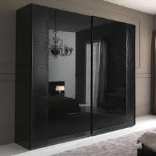 Black sliding wardrobe doors - interior4you