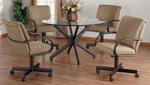 dining room set with caster chairs. dining room set on casters | chairs design ideas \u0026 furniture reviews with caster