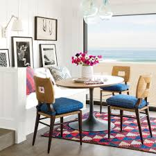 like the socal surf town it inhabits this dining nook designed by peter dunham on coastal dining room wall art with 16 creative gallery wall ideas coastal living