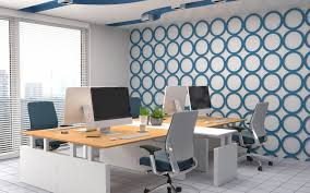wallpapered office home design. Delighful Home Innovative Wallpapered Office Home Design Intended Interior Wallpapers  Wallpaper T Dmbs Co Inside Nzbmatrixinfo