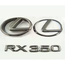 gold lexus logo. Wonderful Logo Gold Rush Plating  Emblems Logos And Graphics 13 Lexus RX RX350K13BN In Logo