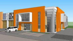 Factory Building Design Pt Rumah Kencana New Factory Building Concept 1