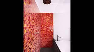 Rote Und Gelbe Fliesen Für Eine Lebendige Badezimmer Youtube