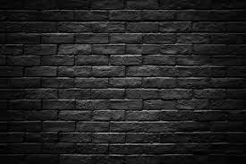 dark black brick stone wall texture