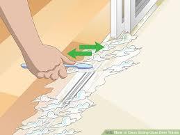 image titled clean sliding glass door tracks step 10