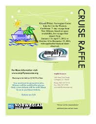 cruise raffle flyer kimhiggins cruise raffle flyer 3