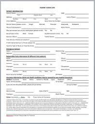 patient information form new patient forms hearne vision care north vernon indiana