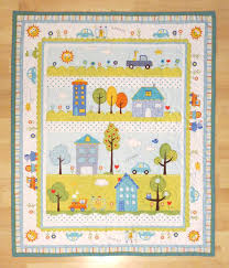Baby Panel Quilt - The Quilted Lemon & Baby Panel Quilt Adamdwight.com