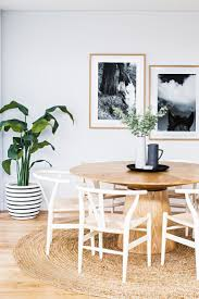 dining table nice modern touch inside this clever new build