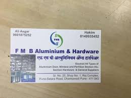 fmb aluminium hardware photos dhankawadi pune hardware s