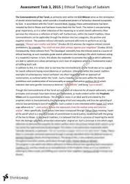 judaism essay year hsc studies of religion ii thinkswap 17 20 jewish ethics essay