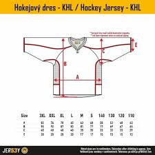 Ice Hockey Jersey Size Chart Icehockey Jersey Khl Jersey53 Se Dressed On The Best