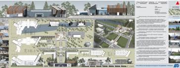 О событии РМАТ Лункарь Ирины Евгеньевны были представлены 2 дипломных проекта в номинации Архитектура общественных зданий Диплом 1 степени