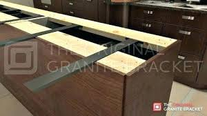 countertop overhang support brackets post granite overhang support plywood interesting for overhangs g granite overhang countertop overhang
