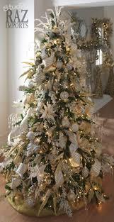 Elegant Christmas Tree Decorating 60 Gorgeously Decorated Christmas Trees From Raz Imports