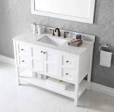 Single white bathroom vanities Lowes White Bathroom Vanity New Virtu Es Wmsq Wh Winterfell Single Bathroom Vanity Cabinet Set Bananafilmcom Bathroom White Bathroom Vanity New Virtu Es Wmsq Wh Winterfell