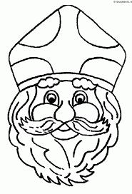 Sinterklaas Kleurplaat Kleurplaten 4198 Kleurplaat Kleurennet