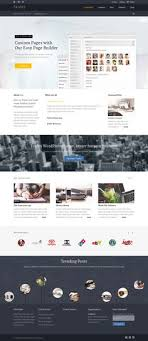 Website Builder Templates Fascinating Elementy Multipurpose PSD Template Pinterest Psd Templates