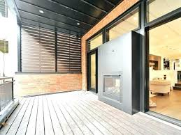 indoor outdoor double sided fireplace inside two plan 13