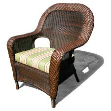 tortuga outdoor sea pines wicker dining chair replacement cushion