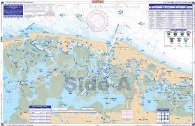 Vineyard Lake Depth Chart Little Egg Harbor To Atlantic City Coastal Fishing Chart 156f