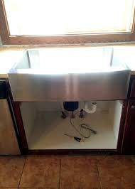 install farmhouse sink existing counter. Apron Front Sink Installed In Install Farmhouse Existing Counter