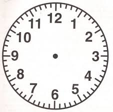Free Printable Clock Template Mult Igry Com