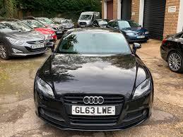 Used Audi Tt 2 0 Tdi Quattro Black Edition 2dr Full Black