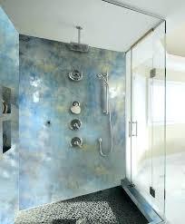 sheet metal accent wall metal shower walls bathrooms shower walls and accent wall metallic coatings