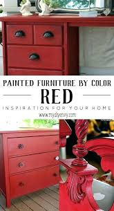 color ideas for painting furniture. Refinishing Furniture Ideas Painting Chalk Painted Red Paint Color For O