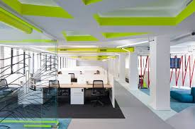 colorful office space interior design. Bold And Bright Colors. Interior Design Colorful Office Space
