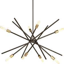 Astra Lighting Limited Progress Lighting Astra Collection 8 Light Antique Bronze